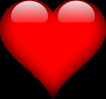 Liebesromane - Rotes Herz