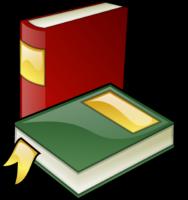 Romane - Rotes und grünes Buch
